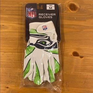 Boys Receiver Gloves Seahawks